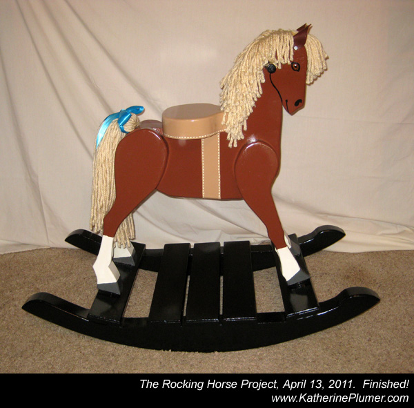 Rocking Horse Face Template