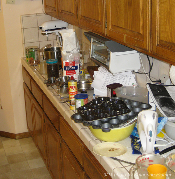 Messy Kitchen Counter: Messy Counter